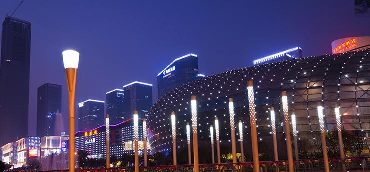 金宝博官网_LED城市景观照明