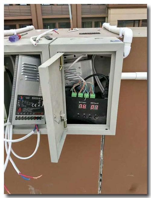 金宝博首页_给金宝博首页配备一个金属接电箱