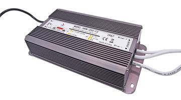 led大功率铝壳防水电源12v200w