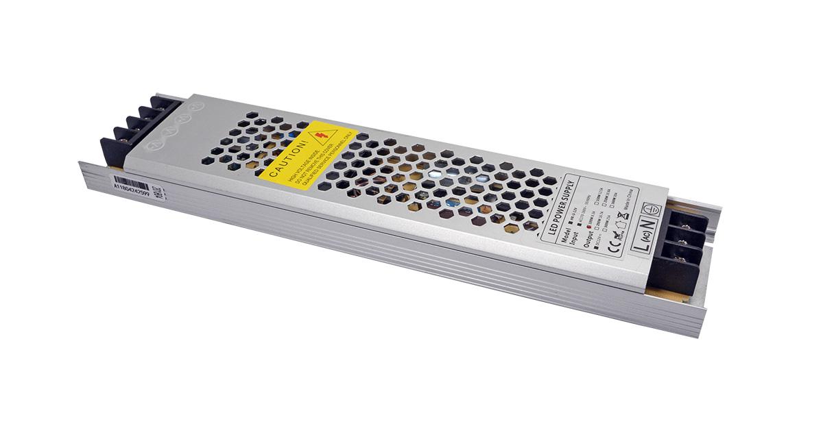 超薄led灯箱电源专用内置铝壳恒压电源24V150W