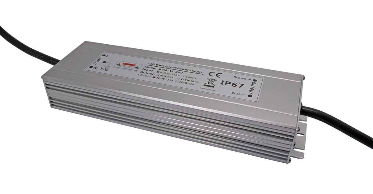 宽薄型大功率防水LED驱动电源300W